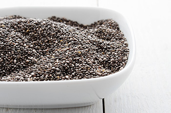 Chia seeds are high in fiber, calcium, iron, magnesium, omega-3 fatty acids, and antioxidants.