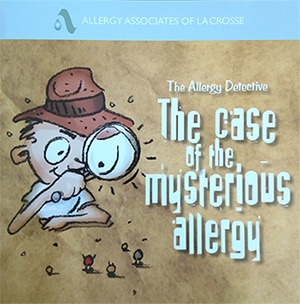 Kids and allergy testing. What are you to do? When you visit the clinic, ask for a copy of our coloring book, The Allergy Detective.