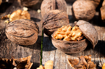 Walnuts as a superfood are an excellent source of copper and manganese and a good source of magnesium and phosphorus.