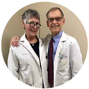 Dr. George Kroker and his nurse, Sorrel Wunderlin, are set to retire the first week of April.