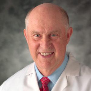 Clinic founder, David L. Morris, MD, ABFP, ABAI, FACA (1929-2017)